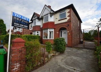Thumbnail 3 bedroom semi-detached house to rent in Talbot Road, Fallowfield, Manchester