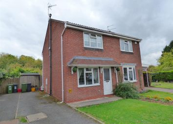 Thumbnail 2 bedroom semi-detached house for sale in Ebourne Close, Kenilworth