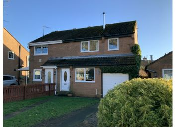 Thumbnail 3 bed semi-detached house for sale in Riverdene, Berwick-Upon-Tweed