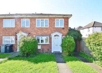 Thumbnail 3 bed end terrace house for sale in Marloes Close, Wembley, Middlesex