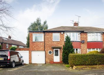 Thumbnail 4 bedroom semi-detached house to rent in Waterbury Road, Brunton Park, Gosforth