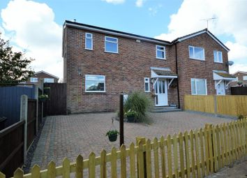 Thumbnail 3 bed semi-detached house for sale in Fieldfare Close, Clanfield, Waterlooville