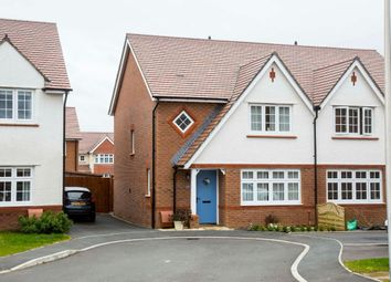 Thumbnail 3 bed semi-detached house for sale in Ivy Close, Manor View, Trelewis