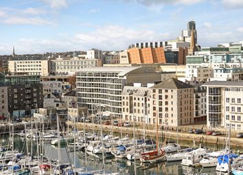 Thumbnail 2 bed flat for sale in Discovery Wharf, Sutton Harbour, Plymouth