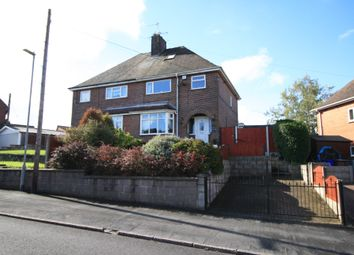 Thumbnail 5 bedroom semi-detached house for sale in Hall Drive, Weston Coyney, Stoke-On-Trent