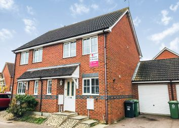 2 bed semi-detached house for sale in Royce Close, Yaxley, Peterborough PE7