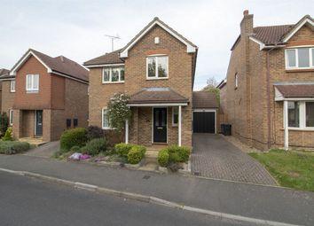 Thumbnail 4 bed detached house for sale in Jessett Drive, Church Crookham, Fleet