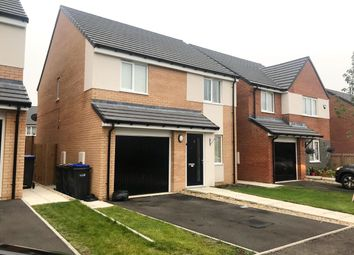 Thumbnail 3 bed detached house for sale in Sugarhill Crescent, Cobblers Hall, Newton Aycliffe