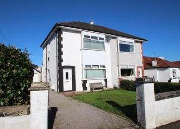 Thumbnail 2 bed semi-detached house for sale in Holehouse Road, Eaglesham, Glasgow, East Renfrewshire