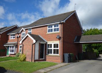 Thumbnail 1 bed end terrace house to rent in Scaife Road, Aston Fields, Bromsgrove