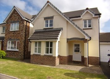 Thumbnail 4 bed detached house to rent in Goldfinch Close, Launceston