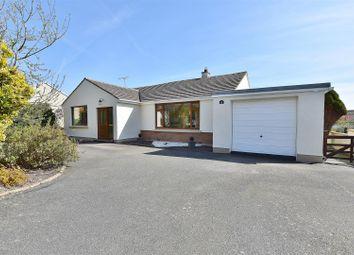 Thumbnail 3 bed detached bungalow for sale in Castle Close, Roch, Haverfordwest