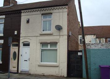 Thumbnail 3 bed end terrace house to rent in Emery Street, Liverpool