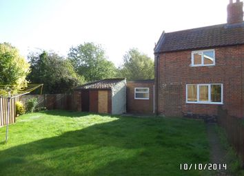 Thumbnail 2 bed cottage to rent in Low Street, Ilketshall St. Margaret, Bungay