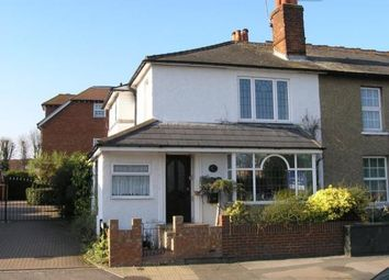 Thumbnail 4 bedroom end terrace house for sale in Cobham, Surrey