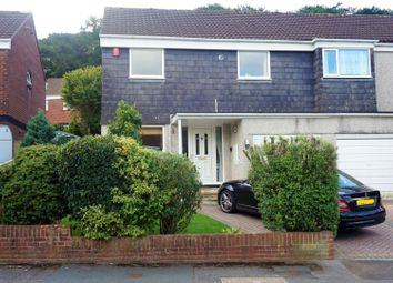 Thumbnail 4 bed semi-detached house for sale in Aycliffe Gardens, Plymouth