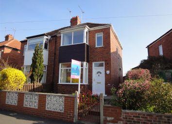 Thumbnail 2 bedroom semi-detached house to rent in Langholme Drive, Boroughbridge Road, York