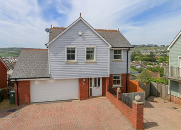 Thumbnail 4 bed detached house for sale in St. Lukes Drive, Teignmouth