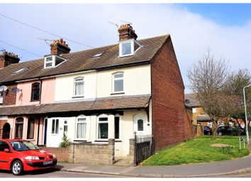 Thumbnail 3 bed end terrace house for sale in Whitstable Road, Faversham