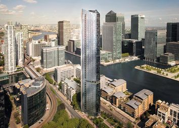 Thumbnail 2 bed flat for sale in 199-207 Marsh Wall, Canary Wharf, London