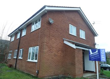 Thumbnail 1 bed semi-detached house to rent in Pennant Close, Birchwood, Warrington