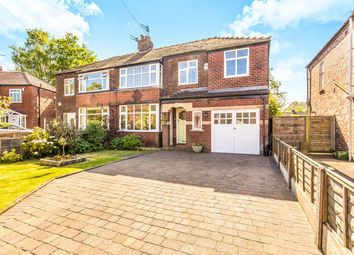 Thumbnail 4 bed semi-detached house for sale in Sylvan Avenue, Wilmslow