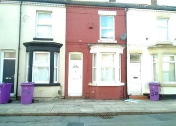 Thumbnail 2 bed terraced house to rent in Mirfield Street, Liverpool