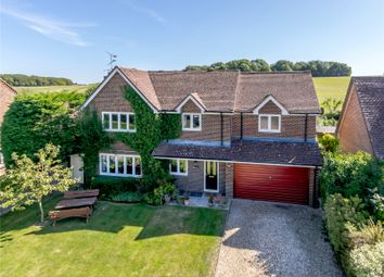 Thumbnail 5 bed detached house for sale in Alton Road, South Warnborough, Hook, Hampshire