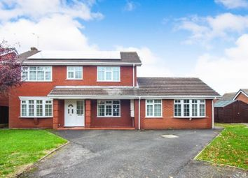 Thumbnail 5 bed detached house for sale in Plover Avenue, Winsford, Cheshire
