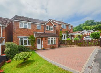 Thumbnail 5 bed detached house for sale in Conifer Close, Caerleon, Newport