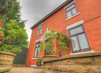 Thumbnail 5 bed detached house for sale in Hadfield Road, Hadfield, Glossop