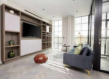 Thumbnail 1 bed flat to rent in Back Hill, London