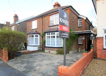 Thumbnail 3 bed semi-detached house for sale in Lumley Road, Lumley Road, Horley