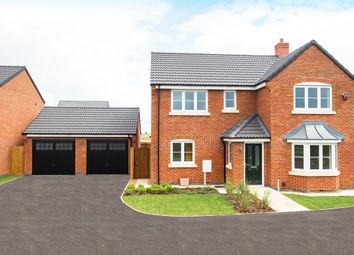 Thumbnail 4 bed detached house for sale in Off Halstead Road, Mountsorrel
