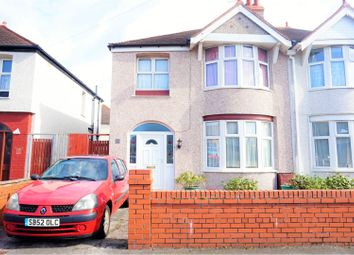 Thumbnail 3 bed semi-detached house for sale in Garnett Avenue, Rhyl