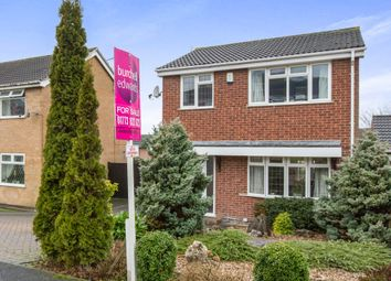 Thumbnail 3 bed detached house for sale in Burbage Close, Belper
