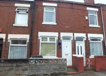 Thumbnail 2 bedroom terraced house to rent in Evans Street, Burslem, Stoke-On-Trent