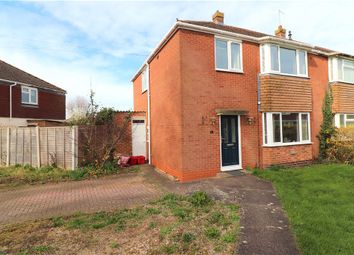 Thumbnail 3 bed semi-detached house for sale in Browning Avenue, Warwick, Warwickshire
