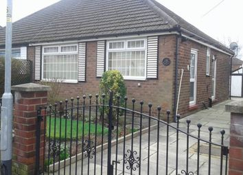 Thumbnail 2 bed bungalow for sale in Kirby Avenue, Chadderton, Oldham