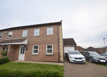 Thumbnail 3 bed semi-detached house for sale in Millers Close, Kirton Lindsey, Gainsborough