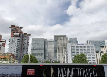 Thumbnail 2 bed flat for sale in Maine Tower, Harbour Central, Plot D, Canary Wharf