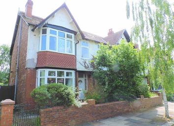 Thumbnail 4 bed semi-detached house for sale in Scarisbrick Road, Burnage, Manchester