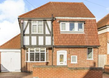 Thumbnail 3 bedroom detached house for sale in Johnson Road, Birstall, Leicester, Leicestershire