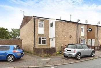 Thumbnail 3 bed end terrace house for sale in Teasel Close, Broadfield, Crawley, West Sussex