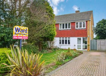 Thumbnail 3 bed semi-detached house for sale in Wilberforce Road, Coxheath, Maidstone, Kent