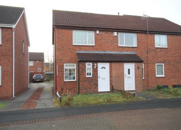 Thumbnail 2 bed semi-detached house for sale in Helvellyn Avenue, Washington