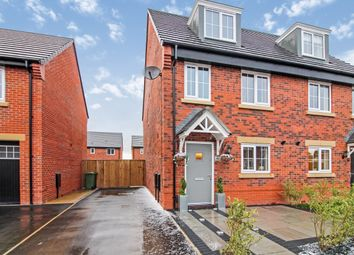 Thumbnail 3 bed semi-detached house for sale in Brimstone Drive, Newton-Le-Willows