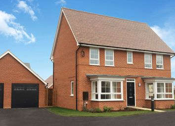 "Thumbnail 4 bedroom detached house for sale in ""Alnwick"" at Gold Furlong, Marston Moretaine, Bedford"