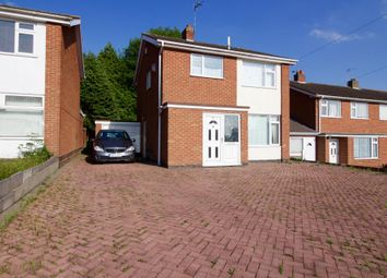 Thumbnail 3 bedroom detached house to rent in Severn Road, Oadby, Leicester