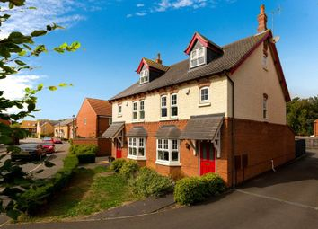 Thumbnail 3 bed semi-detached house for sale in Murrayfield Avenue, Greylees, Sleaford, Lincolnshire